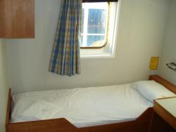 Typical cabin on a freight ferry