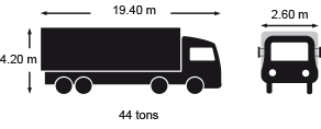 Eurotunnel Freight maximum vehicle dimensions